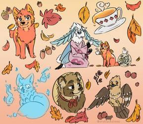 [Good Luck] Autumn Vibes