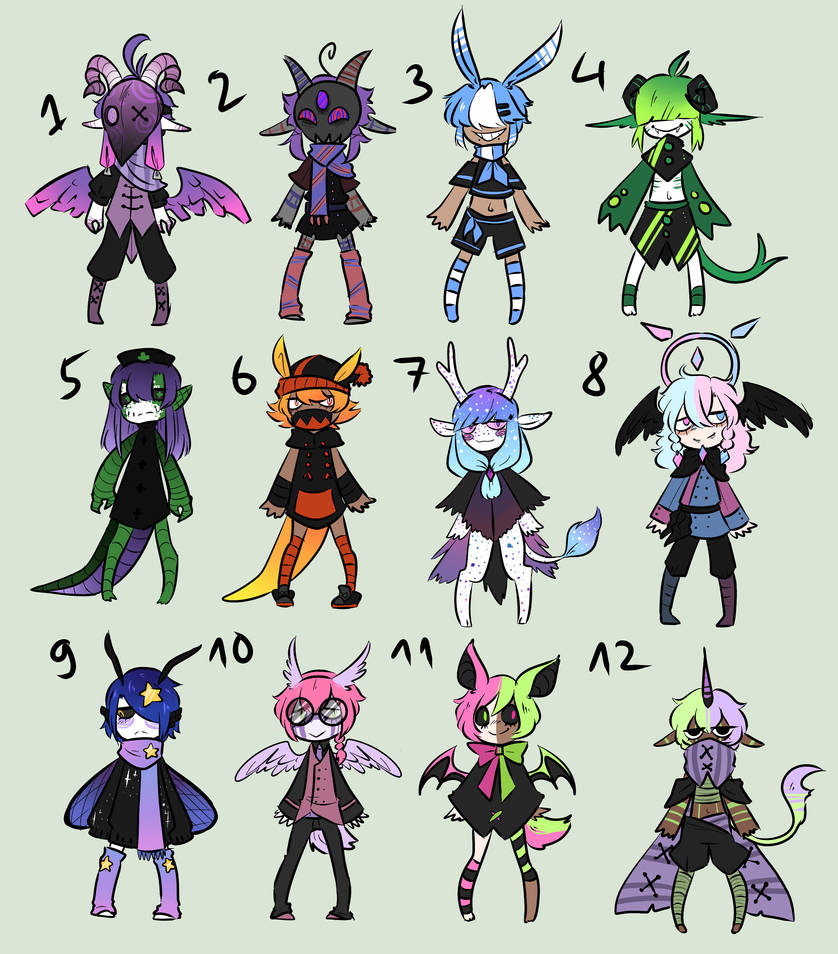 Big Adopt Batch 5EURO PAYPAL ONLY 4 12 LEFT By Mecine