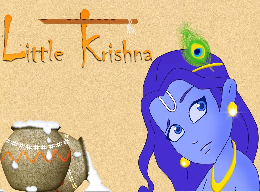 Little Krishna by anikettyagi