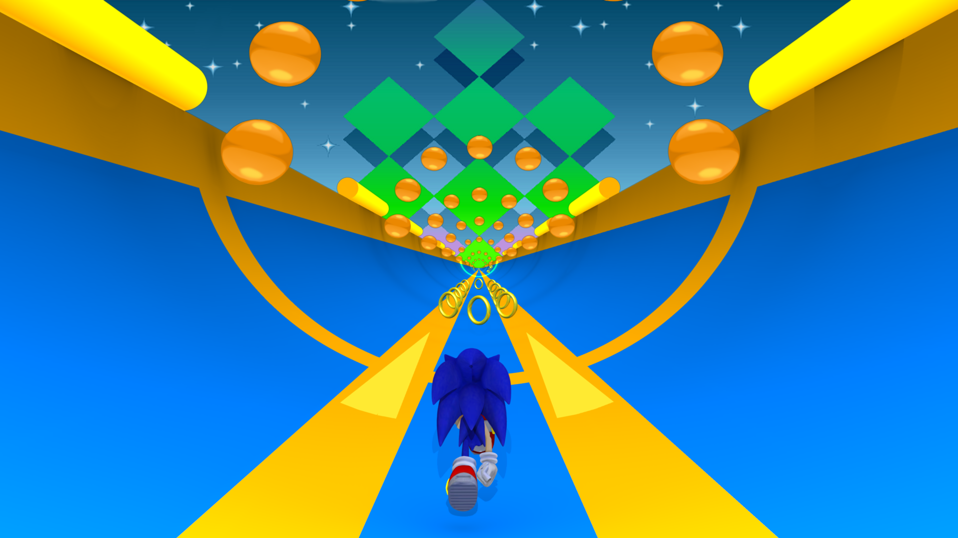 3D Sonic 2 Special Stage by Compsense on DeviantArt
