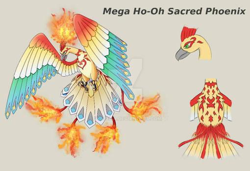 mega Ho-Oh Sacred Phoenix