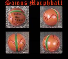 Samus Morphball by GandaKris