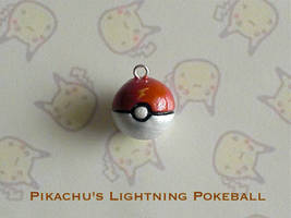 Pikachu Lightning Pokeball by GandaKris