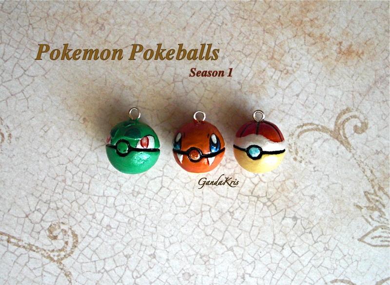 Pokemon Pokeballs Season 1 by GandaKris