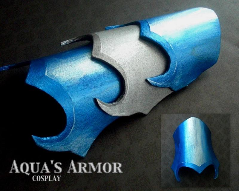 Aqua Armor Cosplay by GandaKris