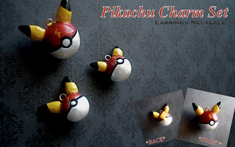 Pikachu Pokeballs by GandaKris