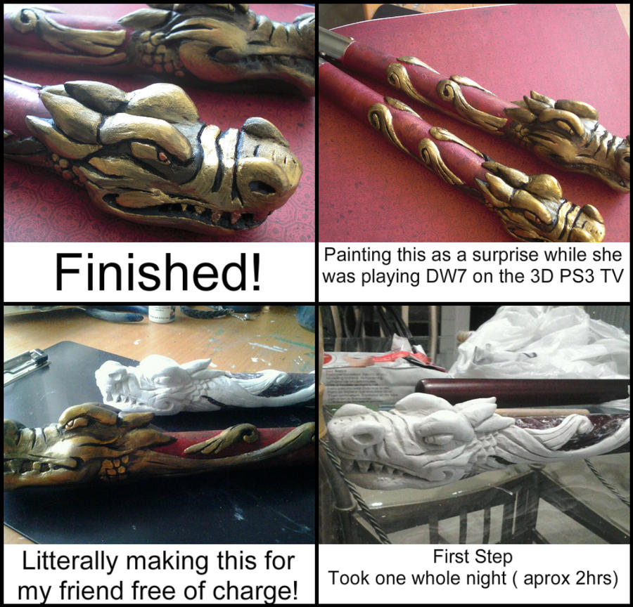 Dynasty Warriors 7 Nunchucks by GandaKris