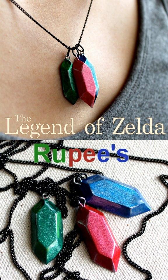 Rupee's from Legend of Zelda by GandaKris