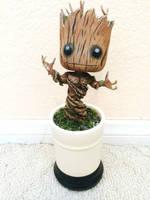 Dancing Baby Groot Jr by GandaKris