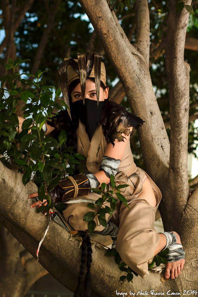Ibuki Tree Ninja by GandaKris