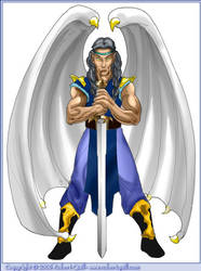 Angel Swordsman by robertquill
