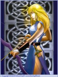 Celtic Archeress
