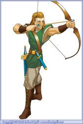 Elven Archer by robertquill