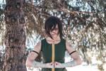 Korra cosplay - Earth Kingdom outfit