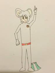 Danger Mouse! (gijinka cosplay)
