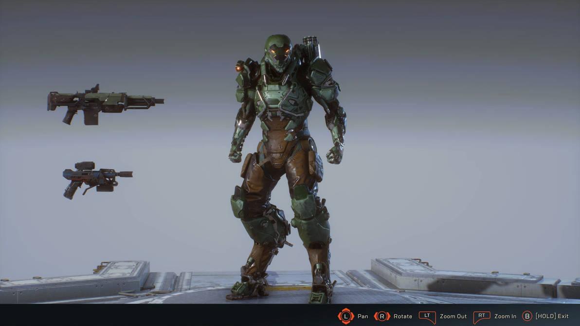 Anthem Ranger Soldier Javelin By Sonicchife On Deviantart