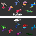 Re-Texture | Dino Run DX | 1