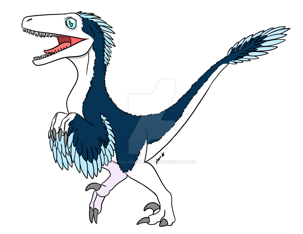 Lineart | Arctic Raptor | Lineart by LeviaDraconia by VirtualDesignerVixen