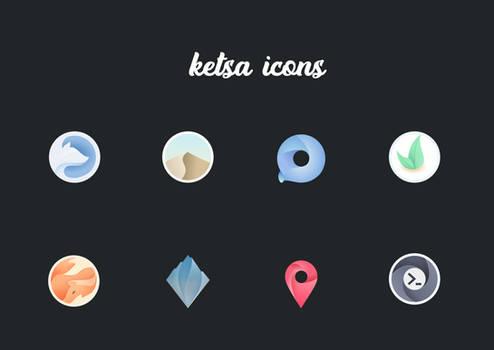 ketsa icon theme