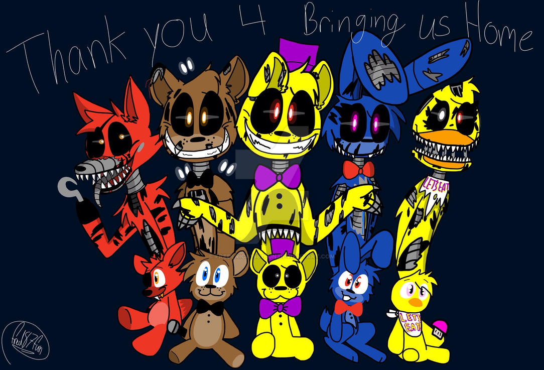 five night at freddys 4 by frederica1987fun