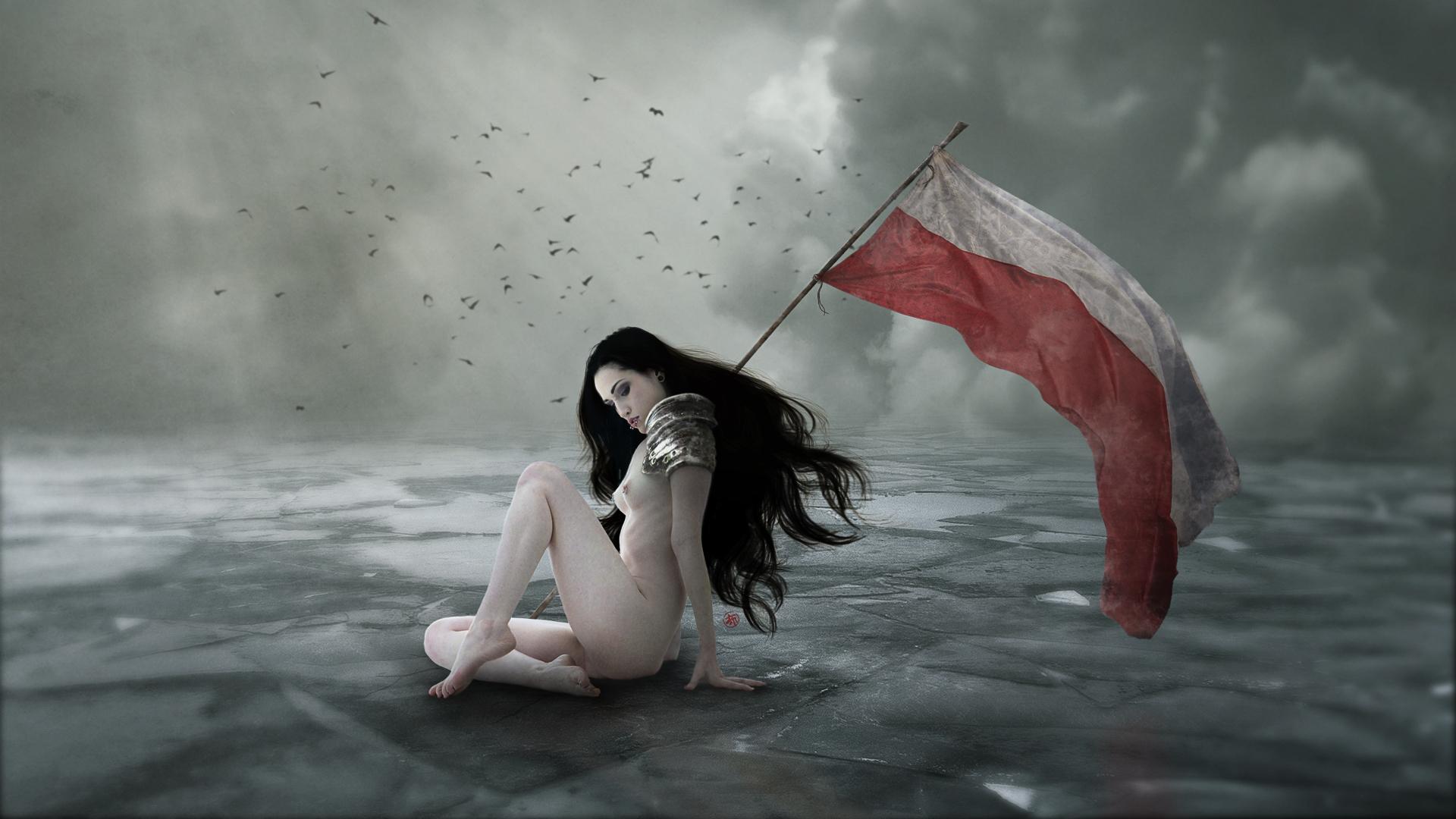 Flag Bearer by Ermes-Buttolo