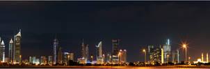 Dubai Towers Panorama