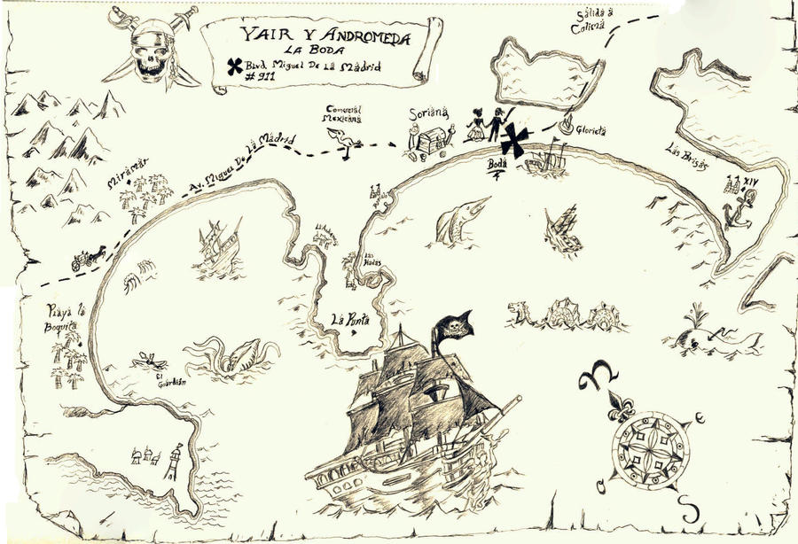 Image Result For Treasure Map Coloring