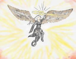 Avacyn, Angel of Hope by niner9