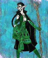 Nissa, Elven Mage by niner9