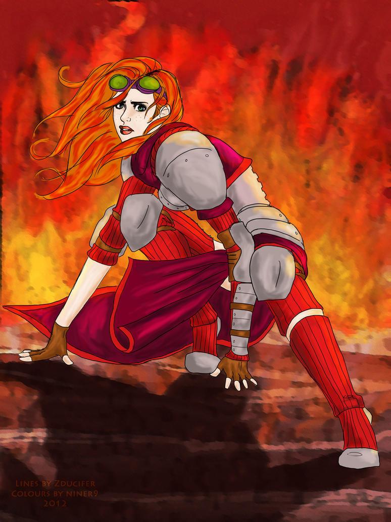 Chandra, Boom by niner9