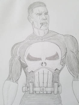 The Punisher, sketch