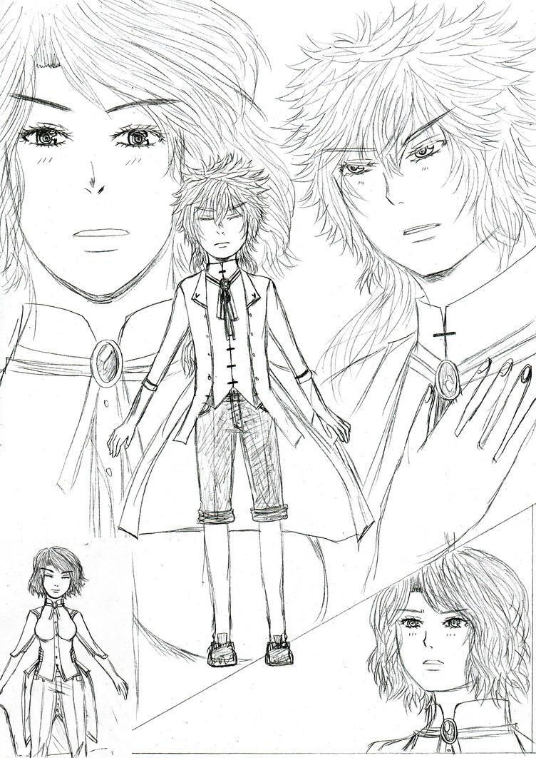 doodles kaksikko by jennipal18