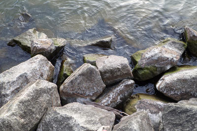 Rocks Pond by Carolinagirl203