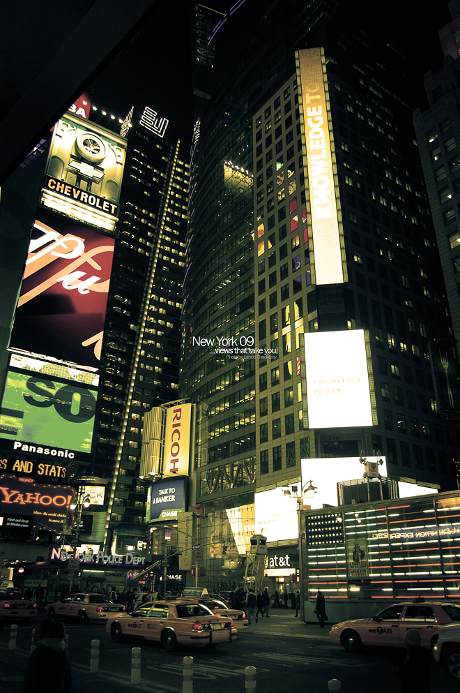 NYC - Views That Take You - 2 by PureAV