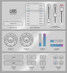 GUIFX Elements Pack 'Lars'. by PureAV