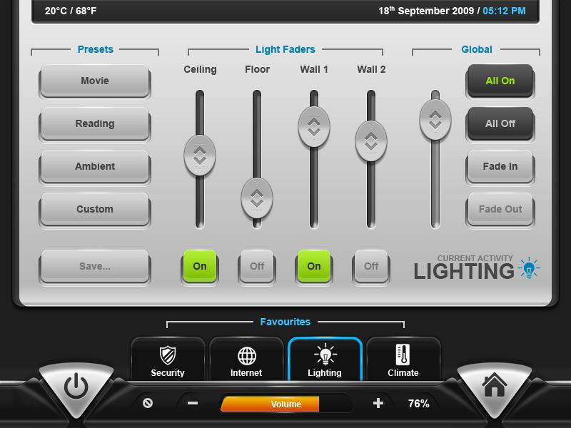 GUIFX Practice Touchscreen UI by Pureav