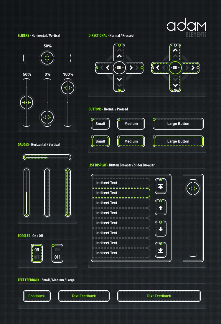 Adam - Sci-Fi Element Pack by Pureav