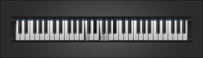 Piano Keys GUI (alternative) by PureAV