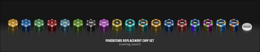 Pokerstars Chip Set (WIP) by PureAV