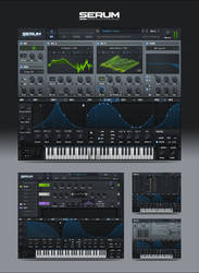 Serum VST GUI