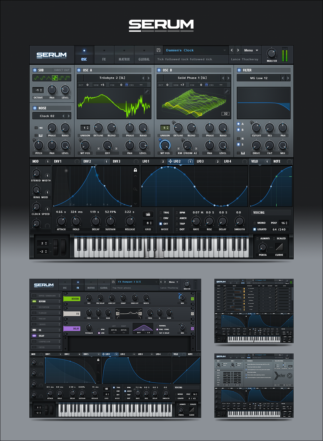 how to use serum vst