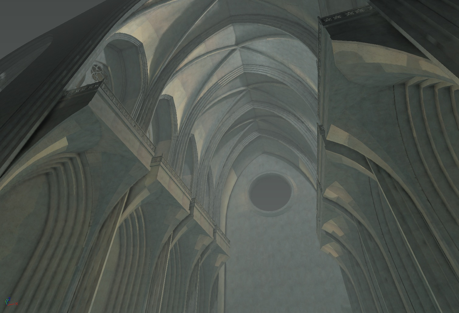 Cathedral 2 - Work in Progress by DigitalNightfall