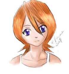 Dyed Rukia by crim-chan