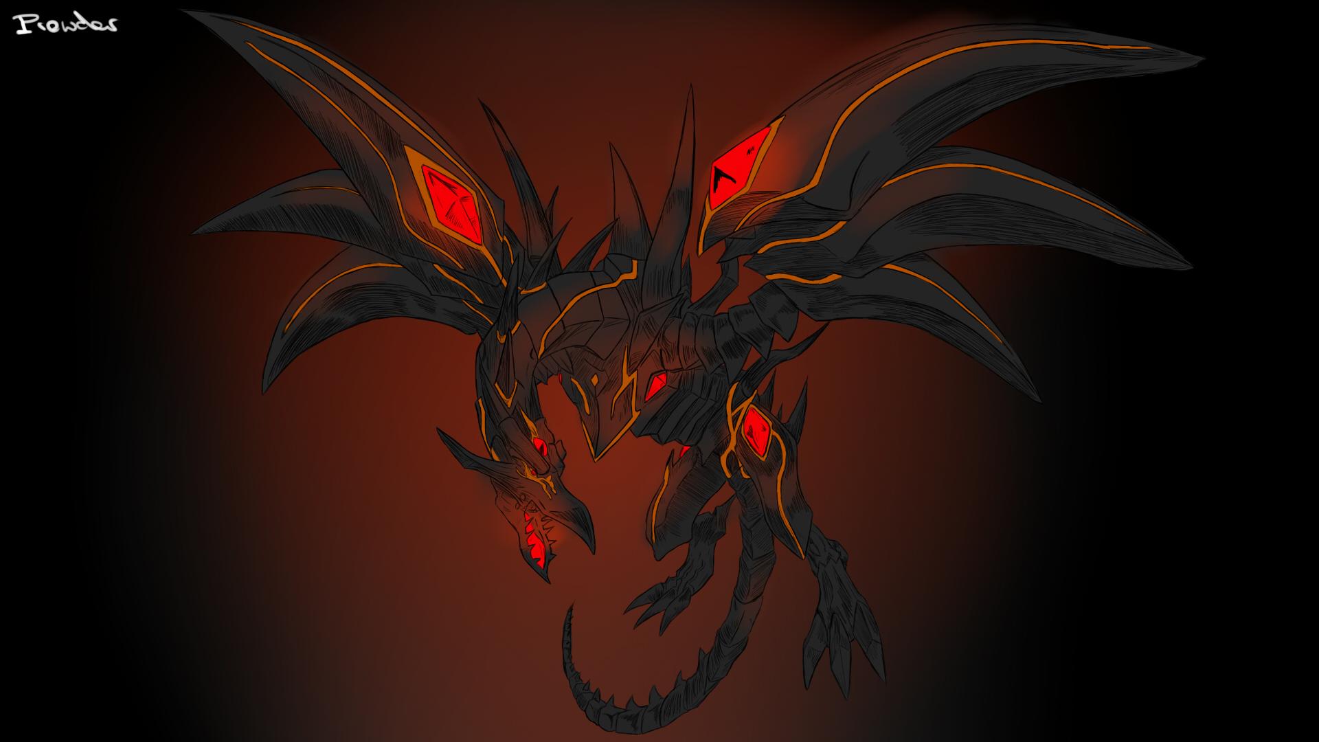 yugioh dragons redeyes darkness dragon by prowdz on