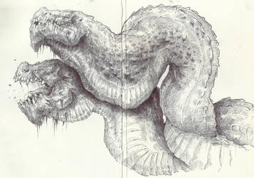 The Twin Serpent by AlMarkComia