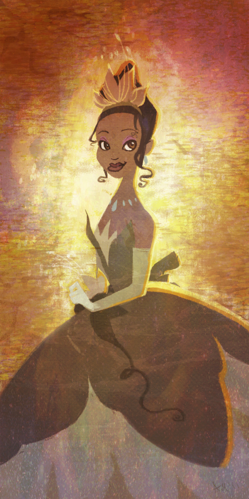 Princess Tiana by nna