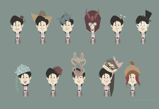 Eleven hats for Eleven