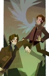 Sam and Gabriel by nna