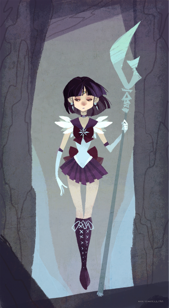 Anime Characters Born On December 7 : Sailor saturn by nna on deviantart