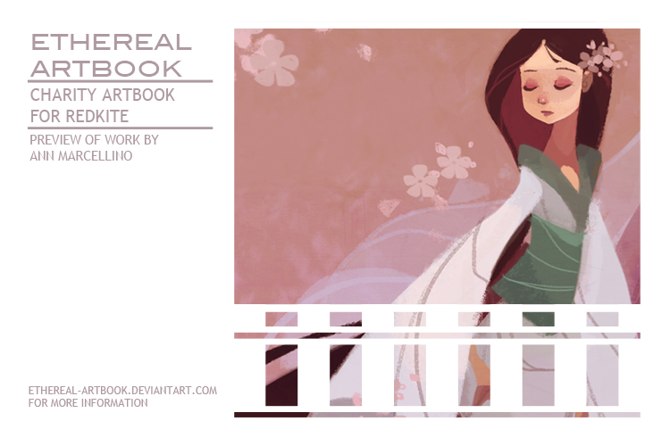 Ethereal Charity Artbook Preview by nna